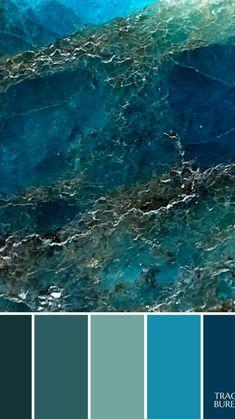 Blue Apatite Color Palette Branding Inspiration
