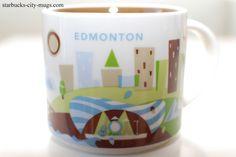 "Edmonton - ""You Are Here"" Starbucks Mug"