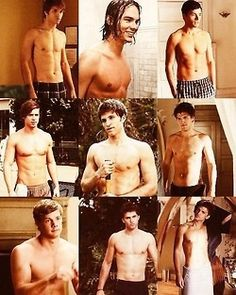 The men of PLL shirtless. You're welcome.