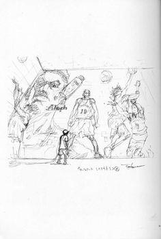 ch277: FanBook & ColorBook Delta Art, Slam Dunk Manga, Inoue Takehiko, Basketball Drawings, Character Turnaround, Manga Love, Flash Art, Comic Movies, Manga Comics
