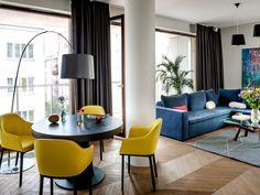 Un apartamento decorado con fantasía e imaginación