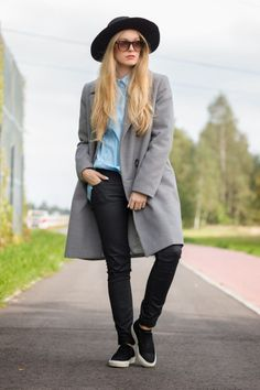 Outfits That'll Make you Want a Grey Winter Coat | StyleCaster
