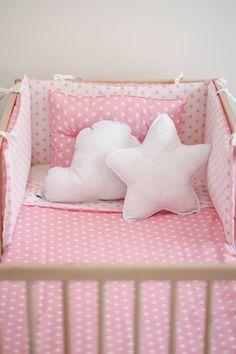 Protector de cuna chichonera cuna decoracion infantil bebe