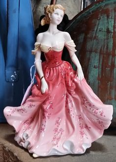 Hey, I found this really awesome Etsy listing at https://www.etsy.com/listing/175351500/royal-doulton-figurine-stephanie