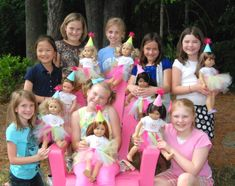 American Girl Birthday Party Ideas | Photo 8 of 16 | Catch My Party