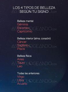 Los 4 tipos de belleza según tu signo #Astrología #Zodiaco #Astrologeando