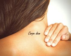 carpe diem tattoo small - Google zoeken