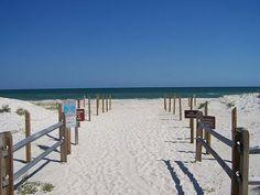 St. George Island, Florida - uncrowded white beaches