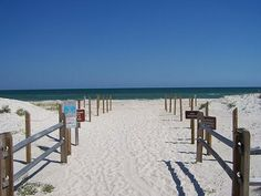 St. George Island.  Miss that soft white sand.