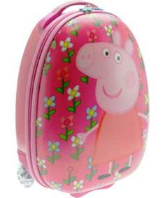Peppa Pig P is for Peppa Pebble Hard Wheeled Bag Christmas Birthday, 3rd Birthday, Kids Luggage, Weird And Wonderful, Peppa Pig, Personal Development, To My Daughter, Children, Bags