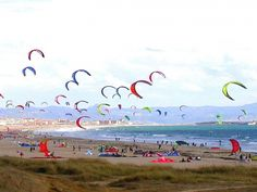 Kiteboarding at Banti Tarifa!