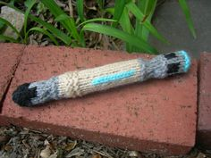 Yeah, it's knitting... but knitting a sonic screwdriver is definitely a nerdy activity.