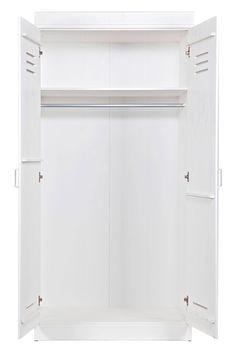 Woood 2-deurs kledingkast Connect | wehkamp Lockers, Cabinets, Closets, Cabinet