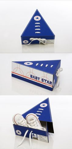Creative Packaging Design - Baby Star Shoe Packaging