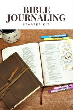 FREE DOWNLOAD! Our Bible Journaling Starter Kit contains printable resources such as lettering pages, tracing samples, hand lettering guides, practice pages + much more... perfect for the budding Bible journaling enthusiast!