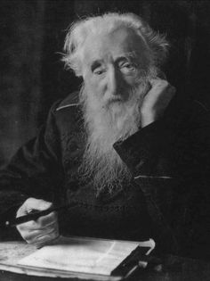 william booth....had some really great ideas. Oh were he with us today!