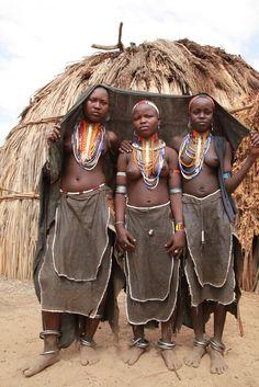 Arbore Tribe . Omo Valley, Ethiopia