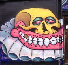 THE SWEET TOOF @thesweettoof www.sweettoof.com Street Art/Graffiti
