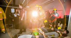 The Mass Casualty Exercise: Behind the Scenes of a (simulated) Disaster Centennial College, Firefighter, Nursing, Behind The Scenes, Exercise, Education, News, Health, Ejercicio