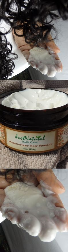 This moisturizer pomade is thick and makes my damaged, extremely dry hair smooth and sleek. I put it on in the shower to my damp hair, and try to leave it on for 5 minutes or so. It can be left on longer and that gives it a chance to sink into hair even better. This deep moisturizer works miracles. I am obsessed with the softness and shininess of my hair.