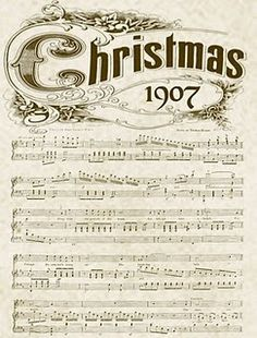 8 Best Images of Old Christmas Sheet Music Printables - Printable Vintage Christmas Sheet Music, Printable Vintage Christmas Music and Free Printable Vintage Christmas Sheet Music Christmas Sheet Music, Noel Christmas, Christmas Images, Christmas Countdown, Winter Christmas, Vintage Christmas, Christmas Crafts, Christmas Decorations, Xmas Music