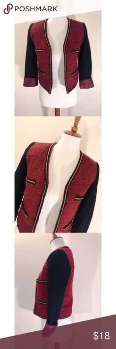 ZARA Mango MNG blazer - Size XS but can fit small.  - I don't trade or sell outside of posh. - I ship every single day!  - All items come from a smoke free home!  - If you have anymore questions just let me know and I would be happy to help! 🙂 Zara Jackets & Coats Blazers
