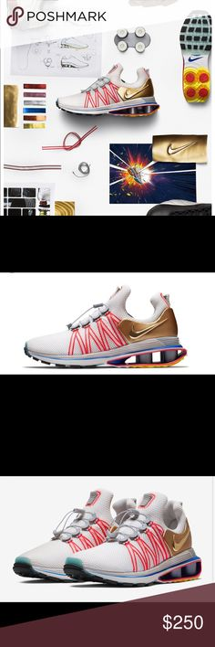 Nike shox Nike shox gravity  metallic gold  DS with original everything  Very comfortable and cd6d210f5