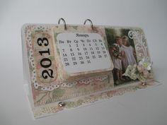 Скрапбукинг: Подарки Своими Руками: Перекидной Календарь к Новому Году своими руками