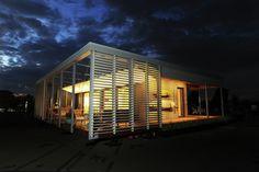 Stevens' Hurricane-Resilient SU+RE House Wins Solar Decathlon 2015,© Thomas Kelsey / U.S. Department of Energy Solar Decathlon