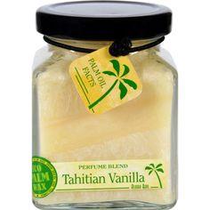 Aloha Bay Candle - Cube Jar - Perfume Blends - Tahitian Vanilla - 6 Oz