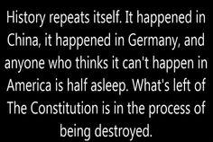 Wake up Americans