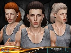 New Hair Mesh ll No Morph ll all Bones assigned ll All LODs Found in TSR Category 'Male Sims 3 Hairstyles' Sims 3, New Hair, Hair Styles, Bones, Mesh, Fandoms, Outfits, Hair Plait Styles, Hairdos