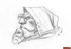 Battle-Chasers-Anthology-Edition-Knolan-portrait-sketch-madureira-pencil-m.jpg (1600×1109)