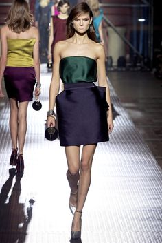 Lanvin Spring 2013 Ready-to-Wear Fashion Show - Kasia Struss (Women)