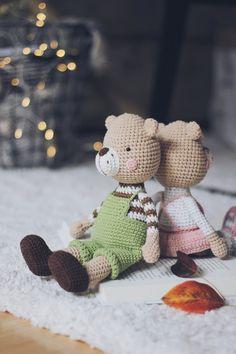 Crochet Bunny Pattern, Crochet Rabbit, Crochet Animal Patterns, Crochet Animals, Amigurumi Patterns, Crochet Geek, Crochet Dolls, Best Baby Shower Gifts, Bear Toy
