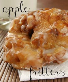Making a great dessert (or let's be honest, snack) is easier  than you think. In fact, you may not have to look further than your  own pantry and refrigerator. Keep reading for an apple fritter  recipe.