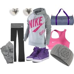 Workout with Winnie - Lucy Workout Attire, Workout Outfits, Workout Gear, Workouts, Sporty Clothes, Sporty Outfits, Cute Outfits, Fashion Outfits, Fitness Style