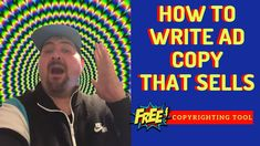 How to write ad copy that SELLS (Free Copyrighting Tool) Make Money Online, How To Make Money, Motivational Videos For Success, Feeling Sorry For Yourself, Learning To Write, Look In The Mirror, How To Stay Motivated, Affiliate Marketing, Ads