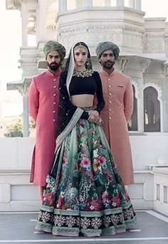 I just found out amazing Bridal Sabyasachi Lehenga Prices from his 2019 and 2018 collection. Check out 29 lehenga prices and gorgeous real bride pictures. Sabyasachi Lehenga Cost, Silk Lehenga, Bridal Lehenga, Floral Lehenga, Anarkali, Lehenga Blouse, Wedding Sarees, Indian Wedding Outfits, Indian Outfits