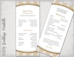 Rustic Wedding program template Burlap  by diyweddingsprintable, $8.00 Rustic Wedding Programs, Wedding Menu, Wedding Planning, Wedding Paper, Wedding Reception, Wedding Stuff, Lace Wedding, Wedding Bulletins, Everyone Is Getting Married