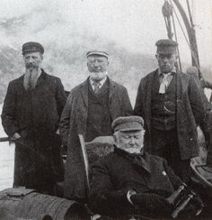 First Presidency July 1895 - Aboard the Willapa - Wilford Woodruff
