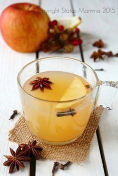 Brulè di mele analcolico speziato alla frutta
