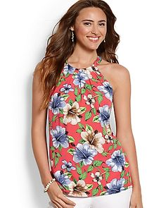 Tommy Bahama - Hibiscus Wisp Halter Top. this style of top from TB
