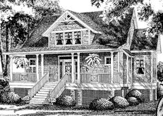 Silverhill Southern Living house plans