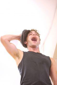 Jeremy Jordan as Jack Kelly in Newsies.  Swoon