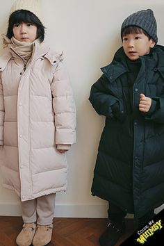 BN Duck Down Coat at Color Me WHIMSY - Cool Kid's Fashion Made in Korea
