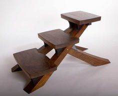 David Rasmussen Design - pretty but the back legs would prob interfere with the cross beam on the table
