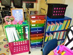 Classroom Organization -- rock star theme