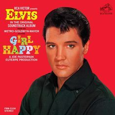 Elvis Presley Girl Happy on Limited Edition 180g LP Mastered by Joe Reagoso & Manufactured at R.T.I. Friday Music / Elvis Presley 180 Gram Vinyl Series In 1965 after a plethora of chart topping albums