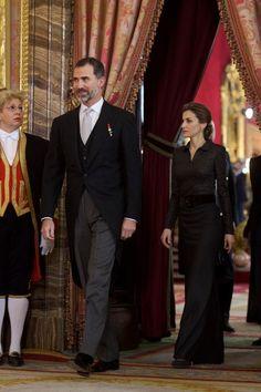 Queen Letizia of Spain Photos: King Felipe VI Receive New Ambassadors